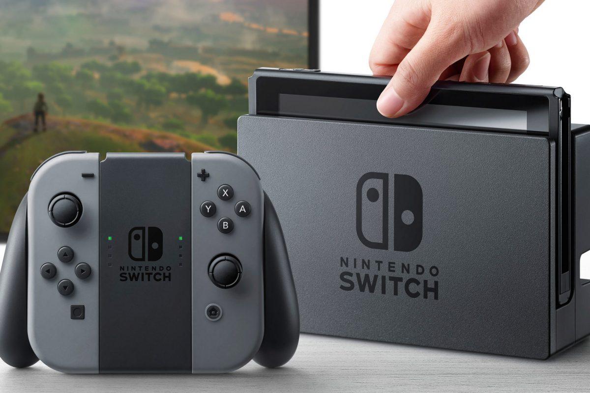 Το πιστό αντίγραφο του Nintendo Switch από πλαστικό