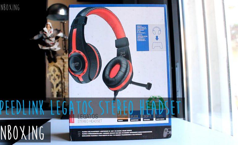 Legatos Stereo Headset Unboxing: Είναι το καλύτερο budget gaming headset;