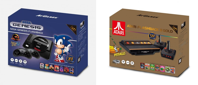 Atari & Sega: To παρελθόν ξαναχτυπά με επανακυκλοφορίες HD κονσολών