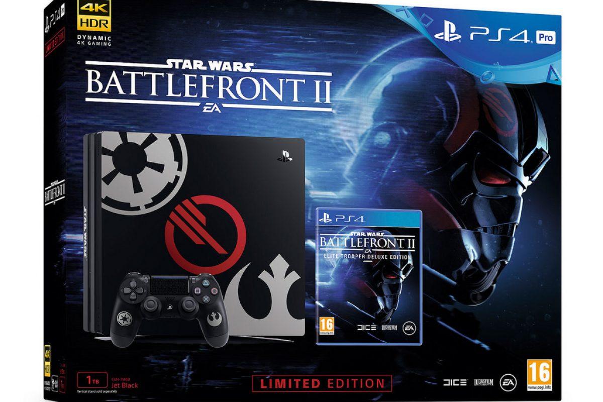 Δύο Bundles των PS4 Pro και PS4 Slim με μοναδική σχεδίαση για το Star Wars Battlefront II (Photos)
