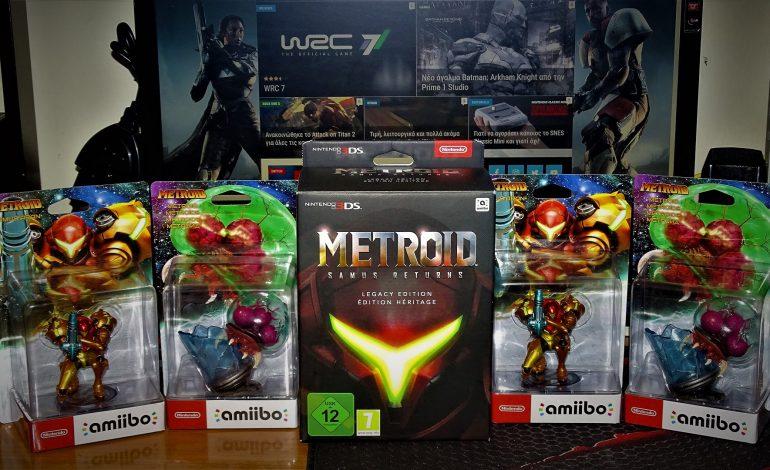 Τι κρύβει η Legacy Edition του Metroid: Samus Returns; | Casual Unboxing