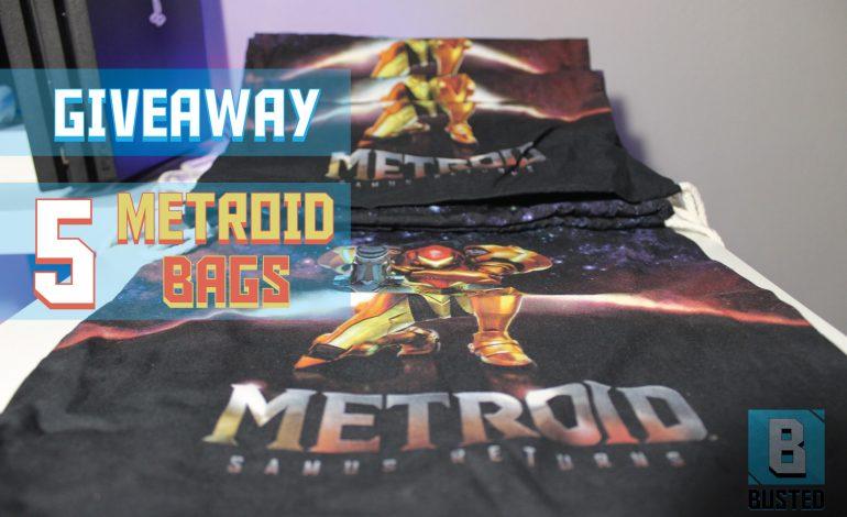 Giveaway 5 υπέροχες τσάντες Metroid: Samus Returns
