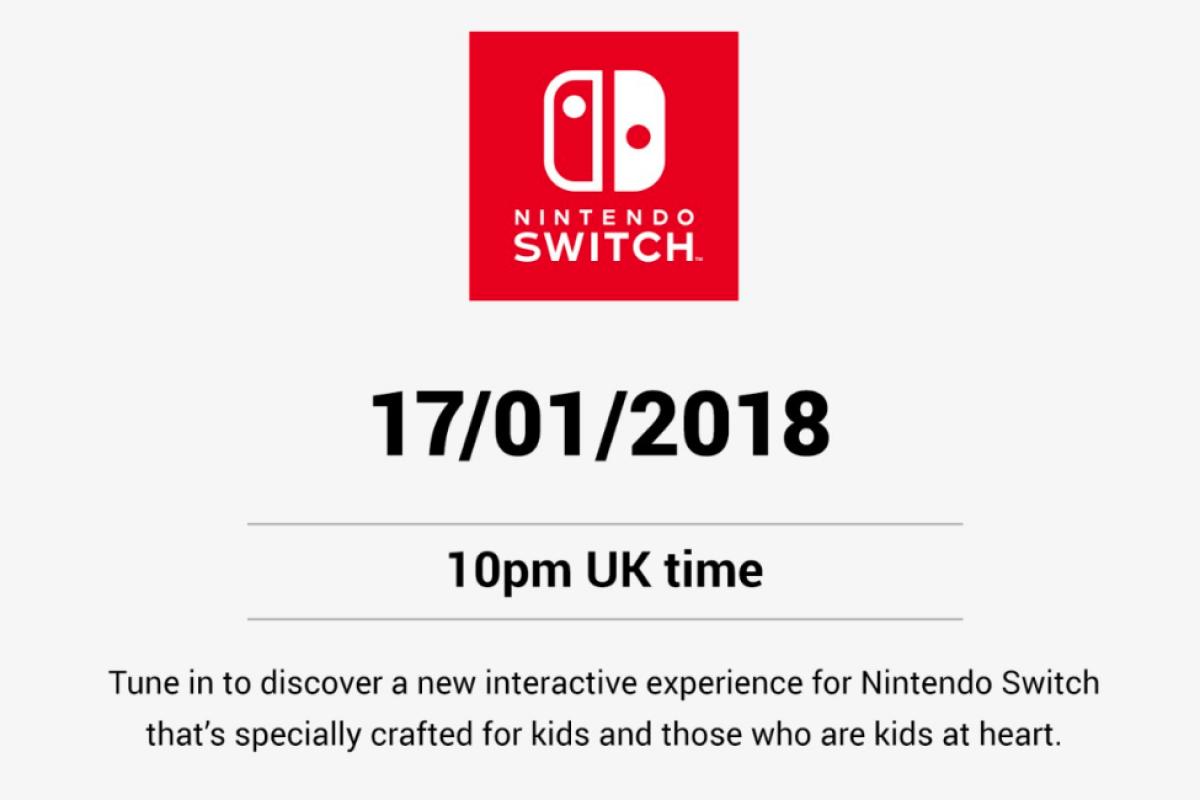 """H Nintendo θα δείξει """"Ένα νέο τρόπο για να παίζουμε"""" σήμερα το βράδυ"""
