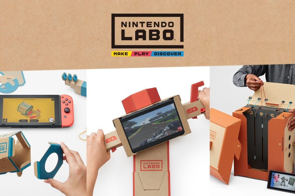 H Nintendo ανακοίνωσε το Labo κι έκανε την έκπληξη (Video)