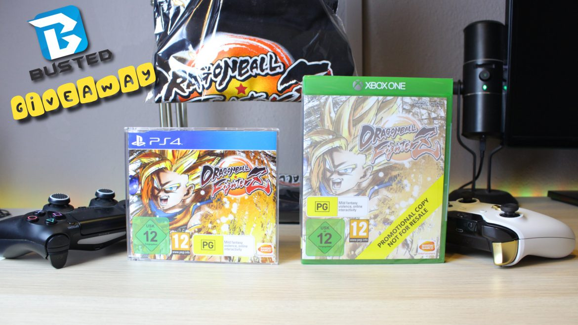 Μεγάλο Dragon Ball FighterZ GIVEAWAY!