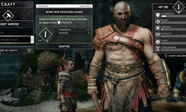 Νέο trailer του God of War φανερώνει το Customization που συναντούμε πρώτη φορά!