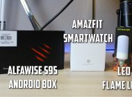 Alfawise Android Box, Flame Light, Amazfit Smartwatch