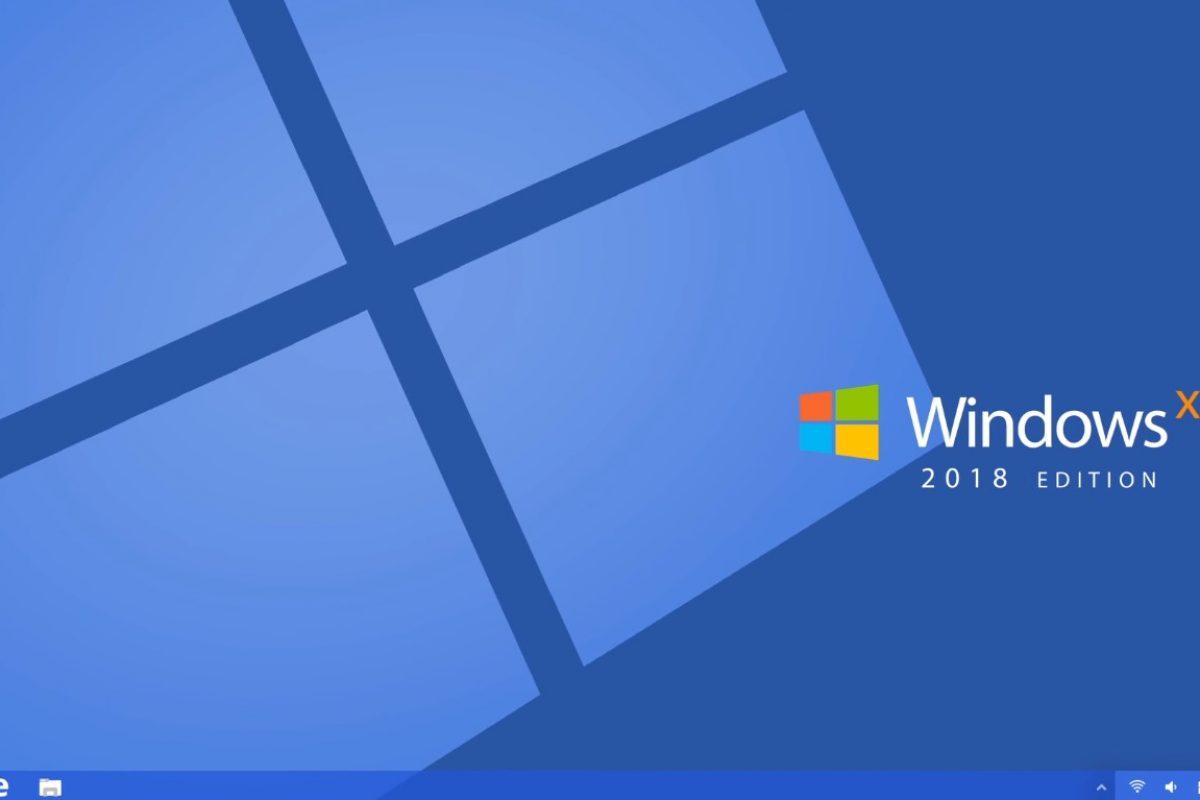 """Τα Windows XP """"προβάρουν"""" την 2018 Edition"""