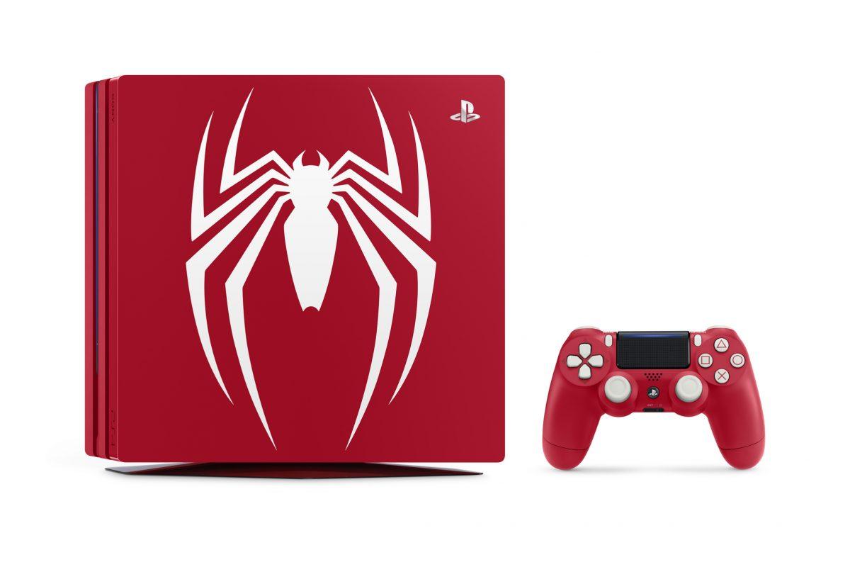 Φωτιά στα κόκκινα το νέο PS4 Pro για το Spider-Man (Photos)