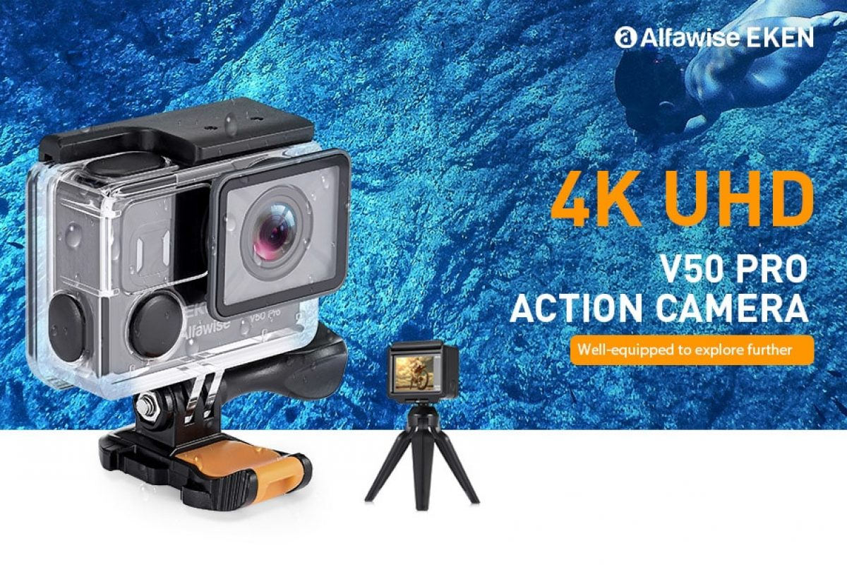 Gadget Deals: 4K Action Cam, Smart Sport Watch και Selfie Stick