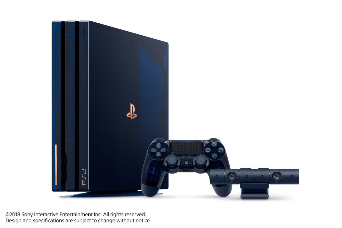 Συλλεκτικό PS4 Pro για τα 500 εκ. PlayStation! (Video)