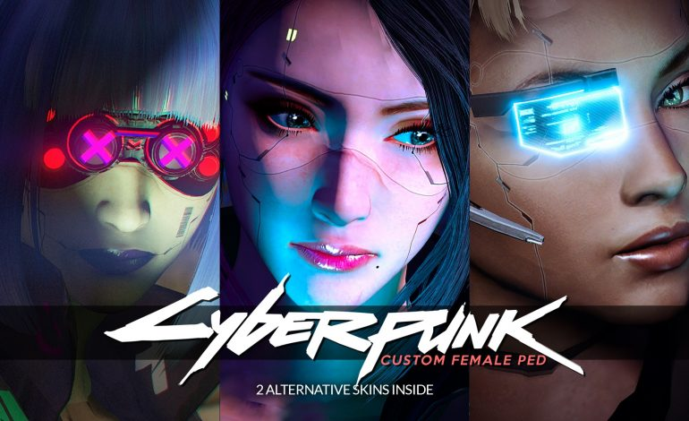 GTA V mod εμπνευσμένο από το Cyberpunk 2077