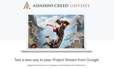 To Assassin's Creed Odyssey τρέχει σε Google Chrome