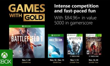 Ανακοινώθηκαν τα παιχνίδια Games With Gold του Νοεμβρίου