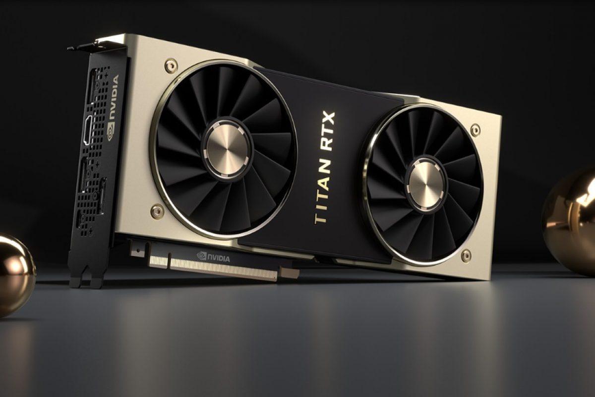 Αποκαλύφθηκε και επίσημα η Titan RTX της NVIDIA