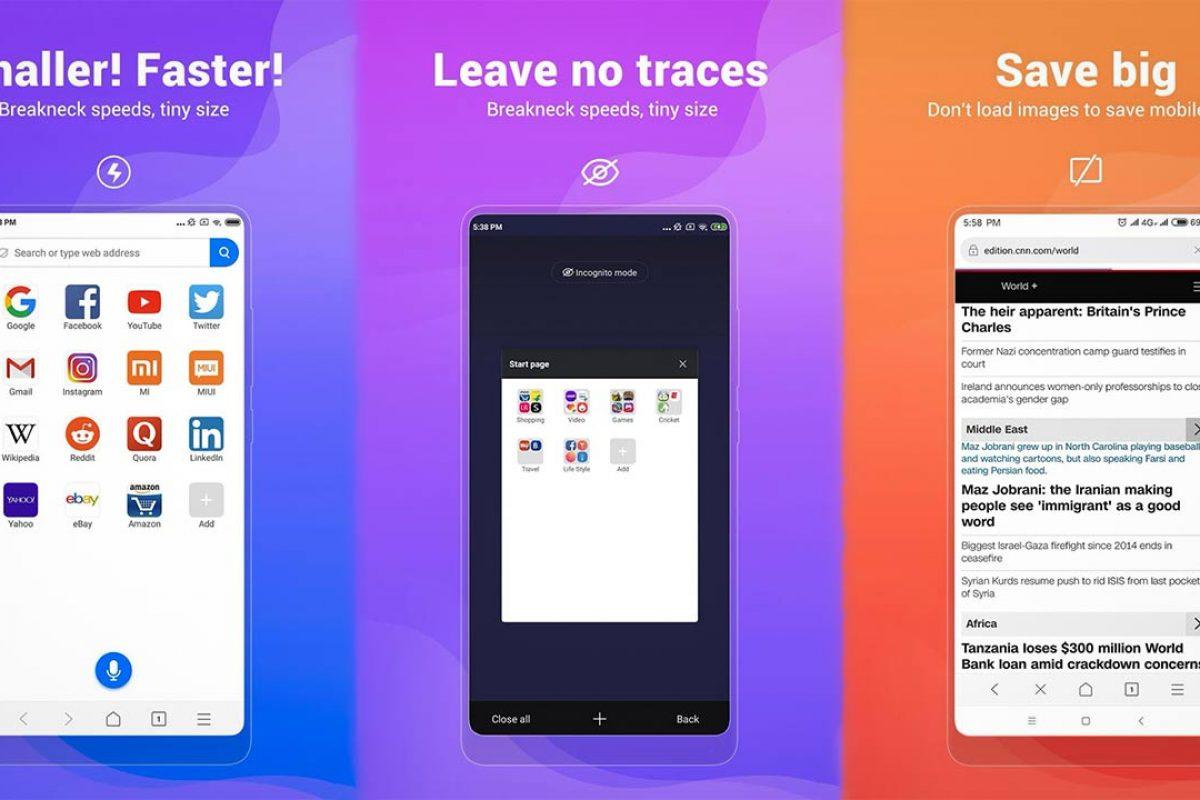 Ο Mint Browser της Xiaomi είναι πλέον διαθέσιμος στο Google Play Store