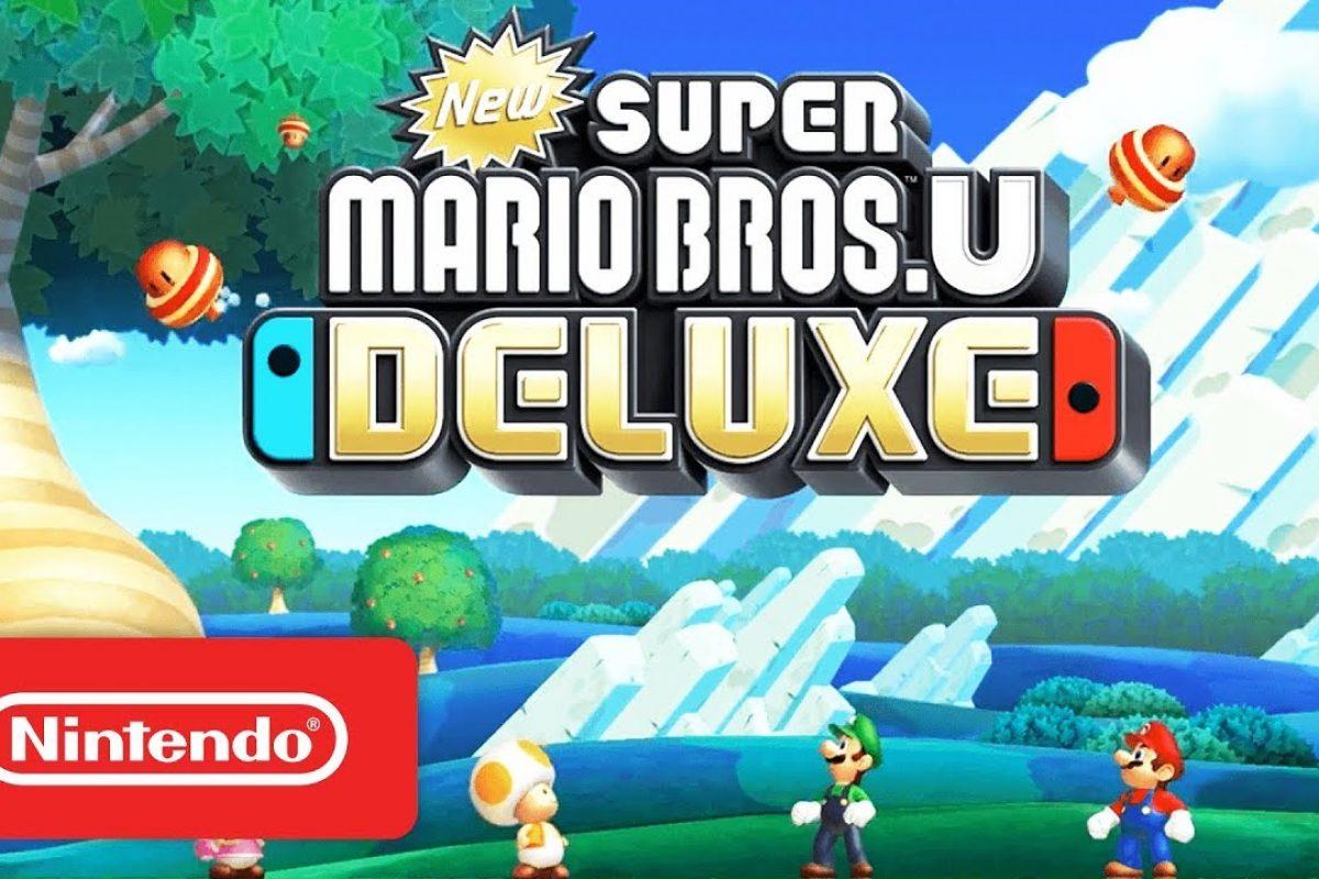 Launch Trailer για το New Super Mario Bros. U Deluxe του Nintendo Switch