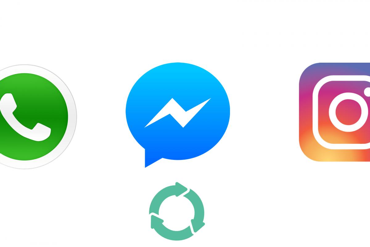 Το Facebook θα ενσωματώσει τα μηνύματα του Messenger, του WhatsApp και του Instagram