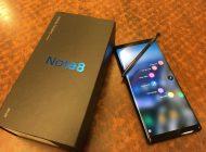 Το Galaxy Note 8 λαμβάνει ήδη την επίσημη Android 9 Pie