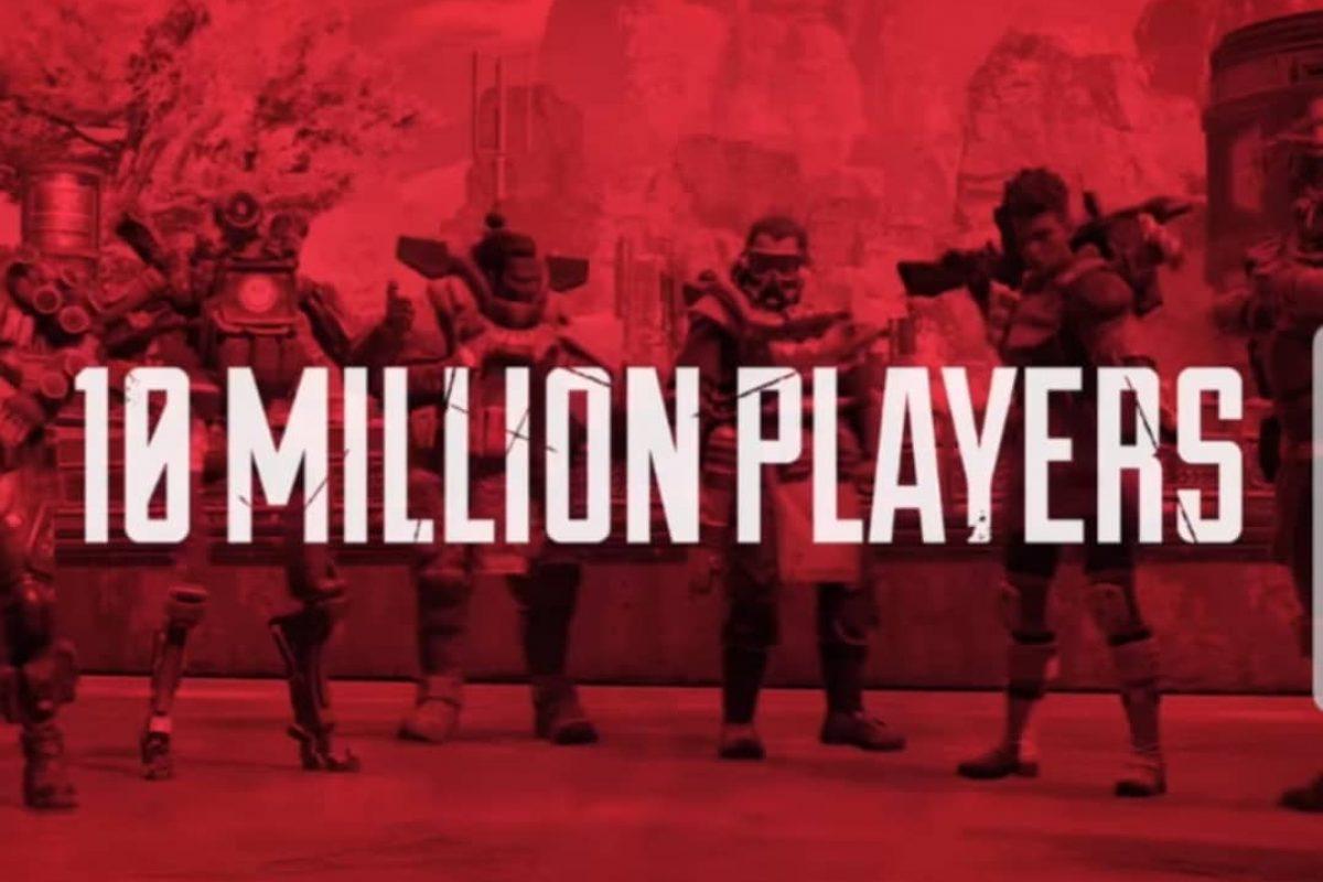 Τους 10 εκατομμύρια χρήστες έφτασε το Apex Legends