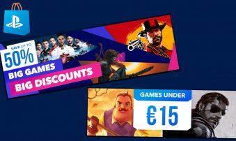 Οι καλύτερες Μεγάλες Εκπτώσεις στο PlayStation Store