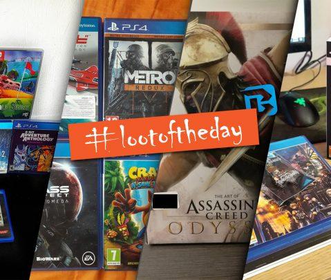 Τα Gaming ψώνια της εβδομάδας | #lootoftheday Ep.1