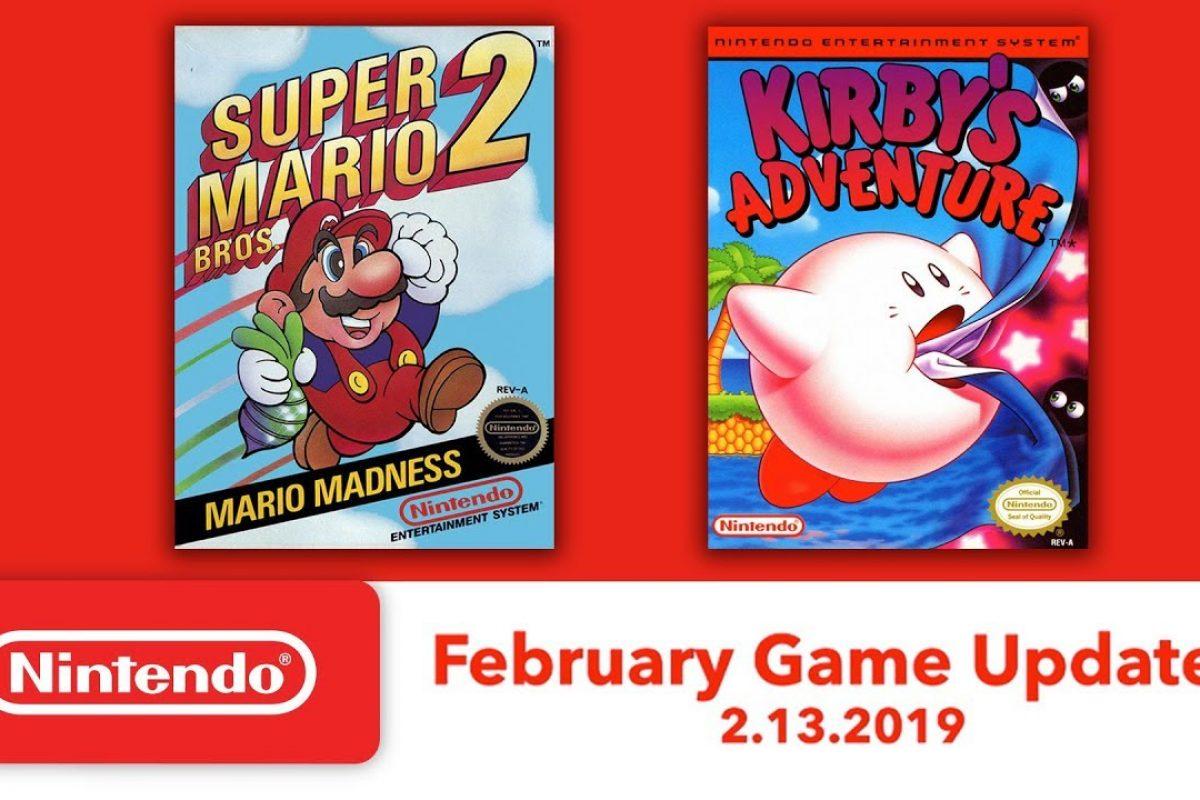 Μάθαμε τα παιχνίδια του Switch Online για τον Φεβρουάριο