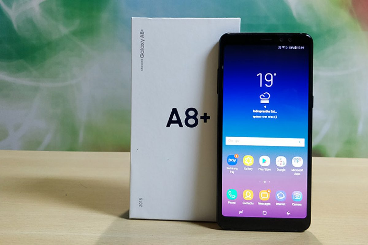 Samsung Galaxy A8+ (2018): Αναβαθμίζεται σε Android Pie