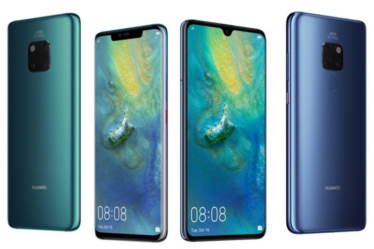Τα Huawei Mate 20 ξεπέρασαν τα 10 εκ. αποστολές